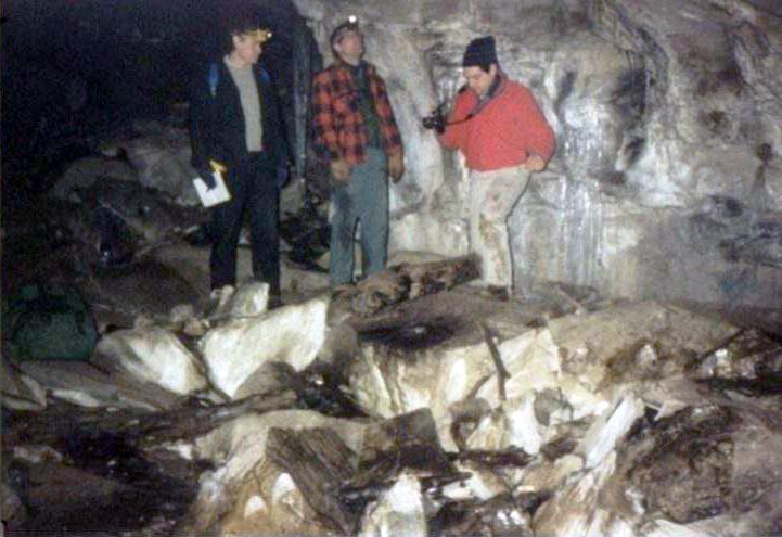 Aeolus Cave Dorset Bat Cave Vermont Cavers Association